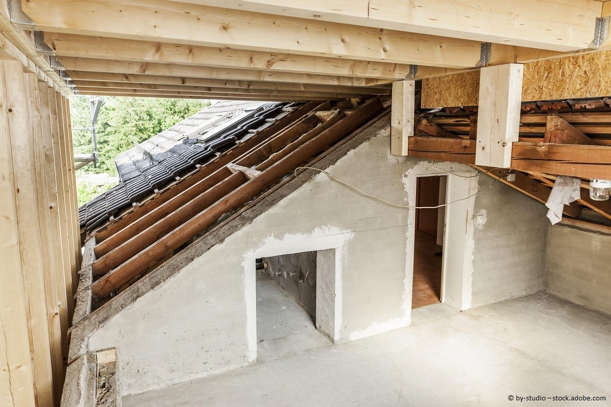 Bauernhaus Dachboden umbauen