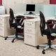 Büromöbel: Kleine Büros platzsparend einrichten