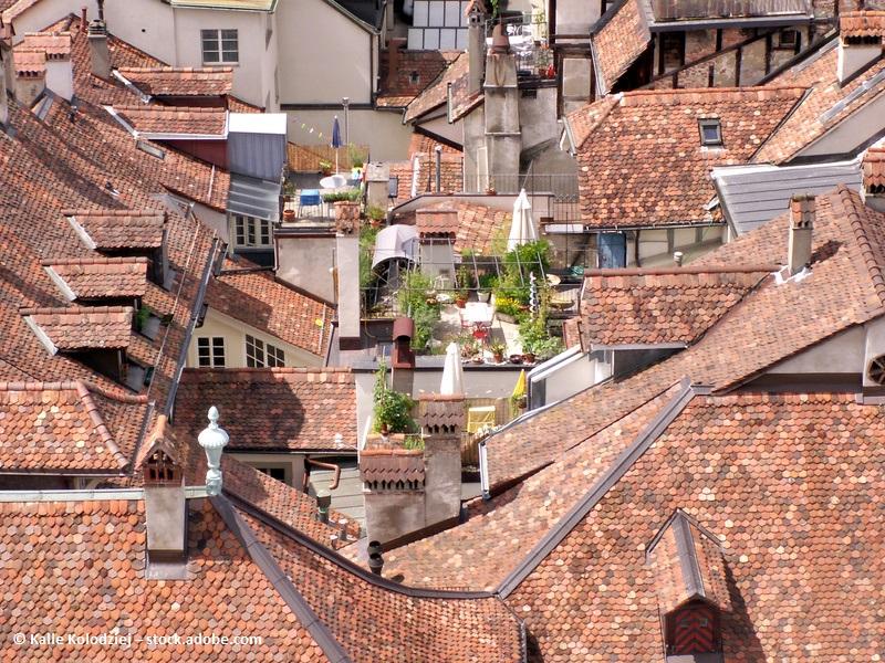 Dachgarten: eine Oase mitten in der Stadt