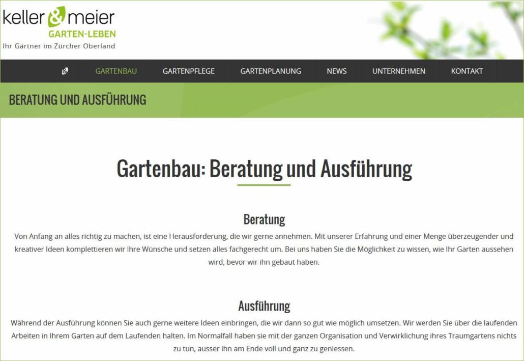 Keller-Meier-Gartengestaltung.ch: Gartenbau im Zürcher Oberland