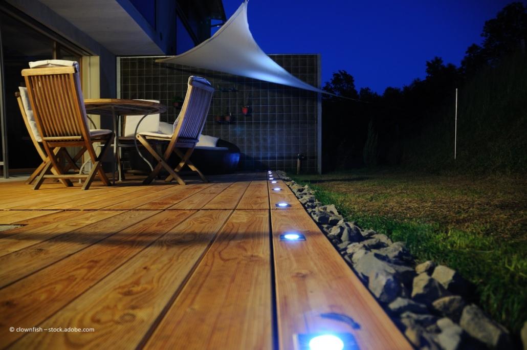 Gartensitzplatz neu gestalten, inkl. Gartenbeleuchtung planen