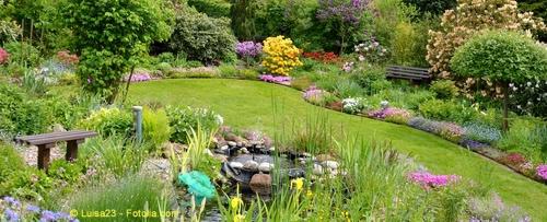 Der Garten, Naturgestaltung direkt vor dem Haus