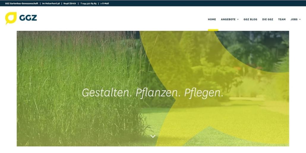 GGZ Gartenbau, Gartenpflege, Unterhalt Zürich