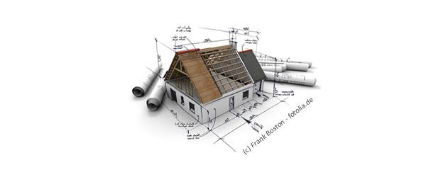 Ein Haus planen ist das eine, den Bauverlauf überwachen und di Bauabnahme sind das andere.