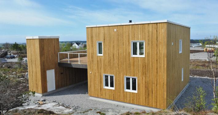 Minergie-Holzhaus: Energie sparen