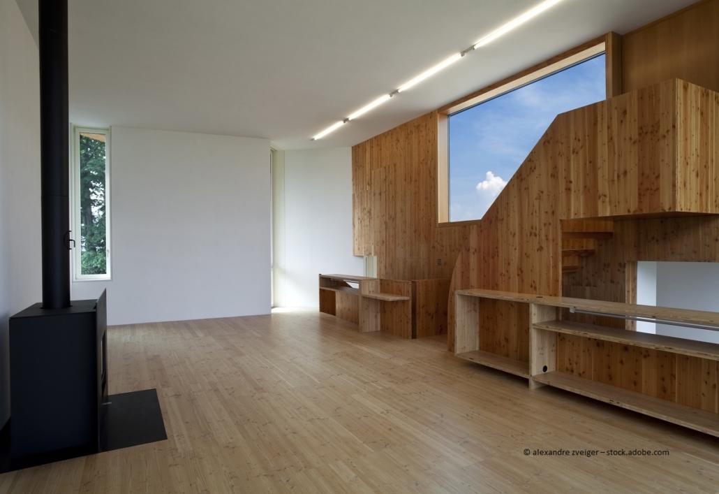 Minergie Holzhäuser Innenausbau- Vor- und Nachteile