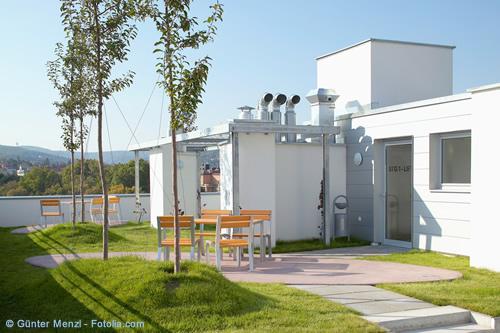 Dachgärten und Terrassen – Die Miniparks des 21. Jahrhunderts